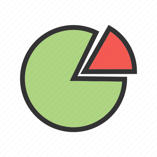 business, chart, graph, information, pie, presentation icon