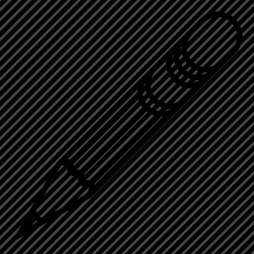 eraser, pen, pencil icon