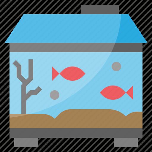 Aquarium, fish, fishing, pet, tank icon - Download on Iconfinder