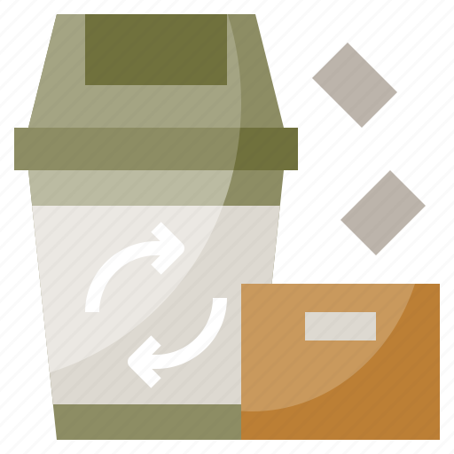 Bin, garbage, office, recycle, trash icon - Download on Iconfinder