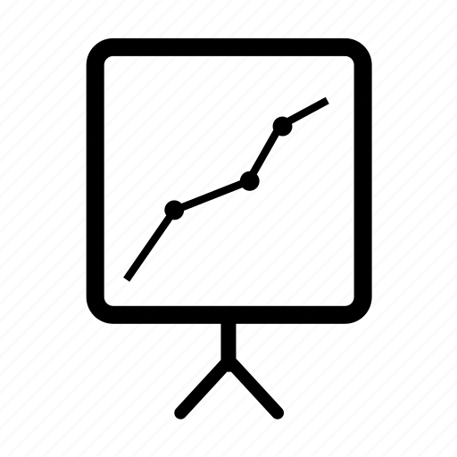 arrow, chart, diagram, graph, report, statistics icon