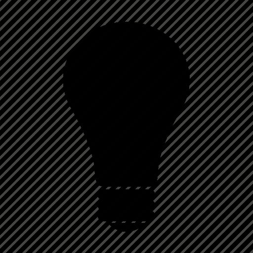 concept, creativity, electric bulb, electricity, filament, idea, tube icon