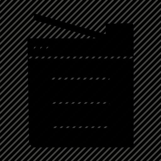 copy, photostat, printer icon