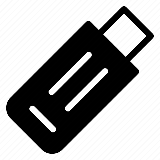 data, drive, memory, usb icon