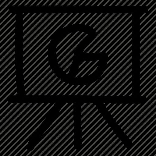 board, event, graph, presentation icon