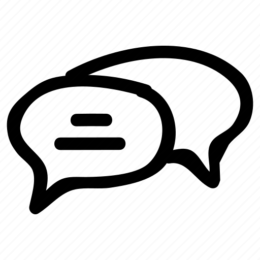 bubble, comment, email, message icon