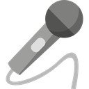 communication, microphone, presentation, speech, talk icon