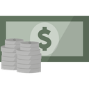 cash, currency, dollar, finance, money icon