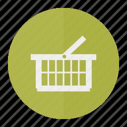 basket, cart, purchase, shopping icon