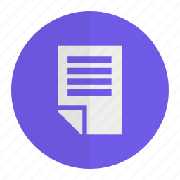 document, office, paper, pdf icon