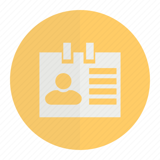 employeecard, idcard, identitycard icon