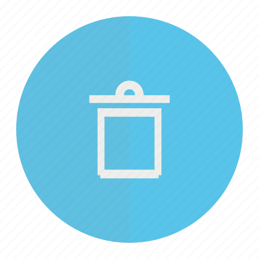dustbin, trash, wastebin icon