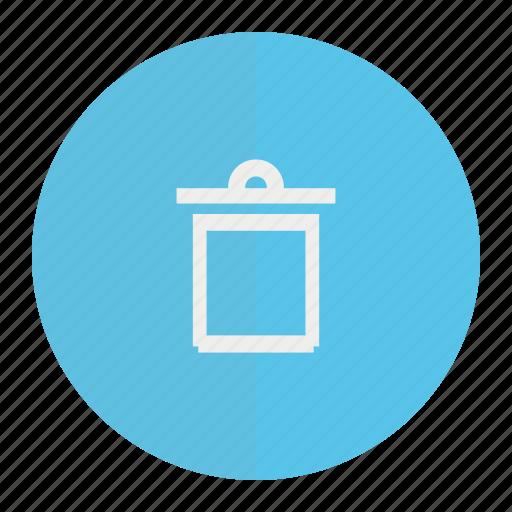 Dustbin, trash, wastebin icon - Download on Iconfinder
