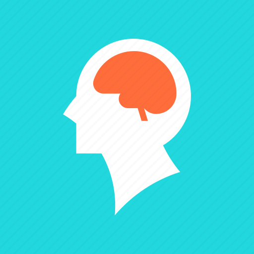 brain, brainstorm, education, head, idea, intelligence, mind icon