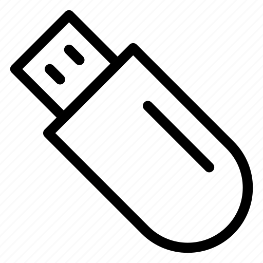 data, dongle, drive, usb icon