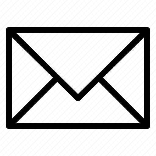 letter, mail, message, post icon