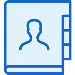 contacts, office, work icon