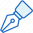 ink, office, work, writing icon