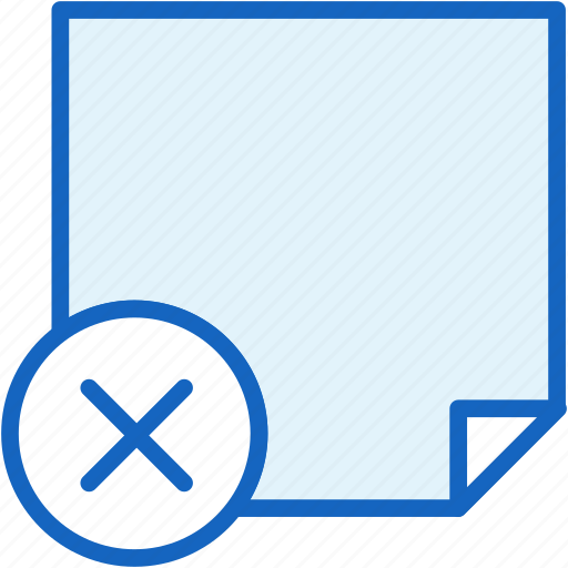 office, paper, remove, work icon