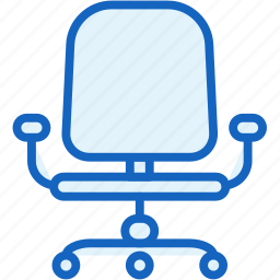 chair, office, work icon