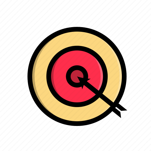 archer, business, corporate, goal, office, target, work icon