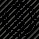 arrow, dollar, goal, target icon