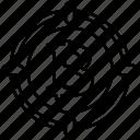 bitcoin, target icon