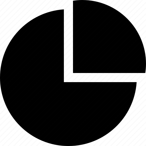 analytics, circle, graph, pie chart, piece, statistics icon