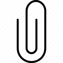 clip, metal, paper icon