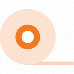 band, duct, office, tape icon