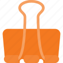 attache, clip, document, mail, office, paper icon