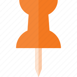 document, office, pin, pinner icon