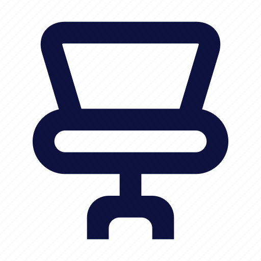 chair, furniture, icon, officechair icon