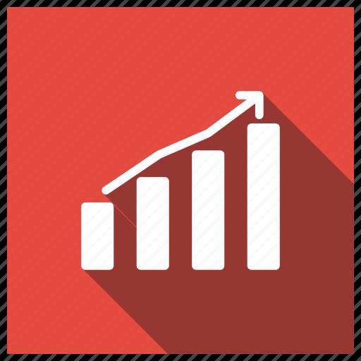 analytics, finance, graph, statistics icon
