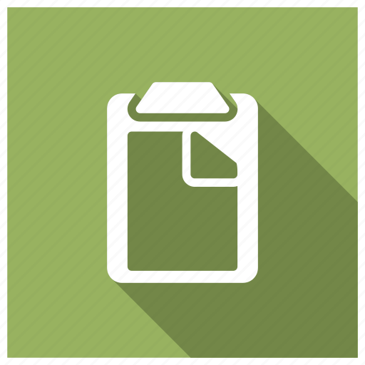 clipboard, files, management, strategy icon