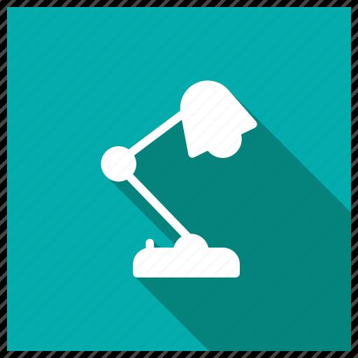 desklight, electronic, lamplight, tablelamp icon