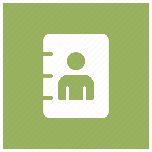 address, book, contact, phonebook icon