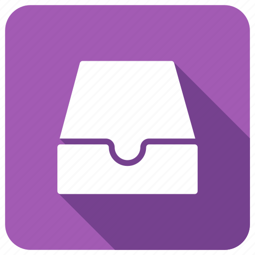 archive, box, document, office icon