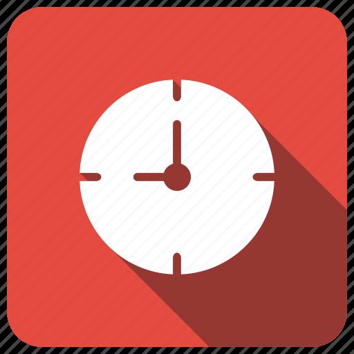 clock, timer, wallclock, watch icon