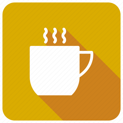 coffee, cup, drinks, hot icon