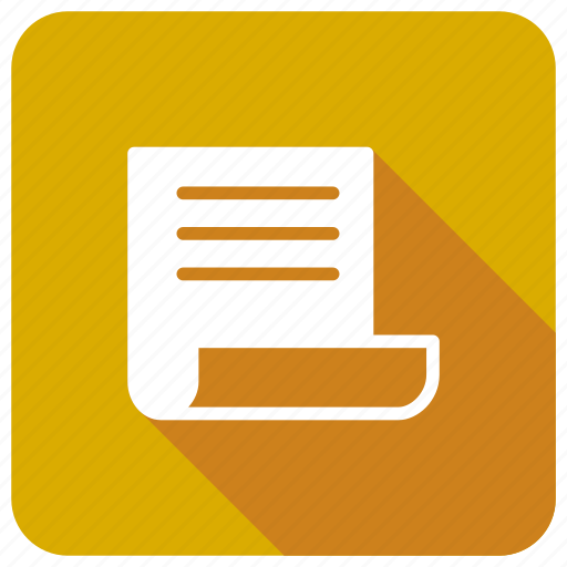 book, document, file, opened icon