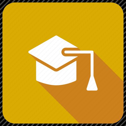 cap, degree, education, graduation icon