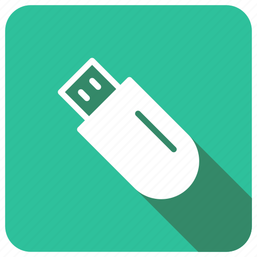 data, dongle, drive, usb icon