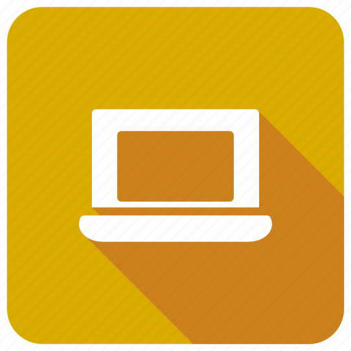 computer, laptop, notebook, technology icon