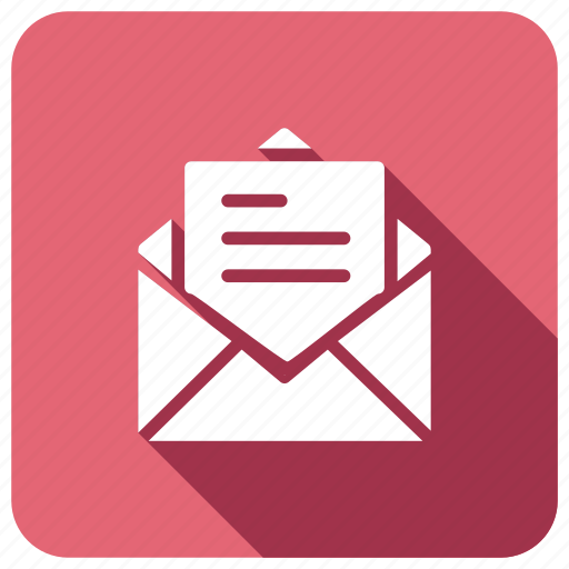 mail, openenvelope, openmail, post icon