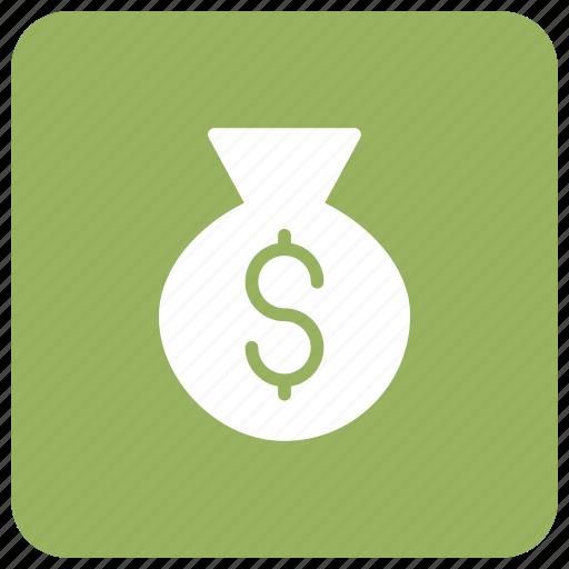 accounting, banking, dollar, finance icon