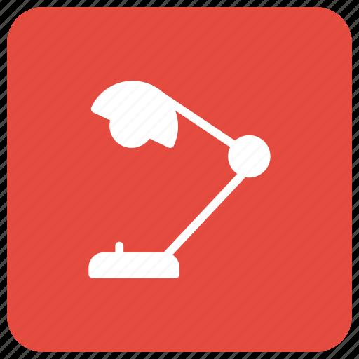 desklamp, desklight, lamp, lamplight icon