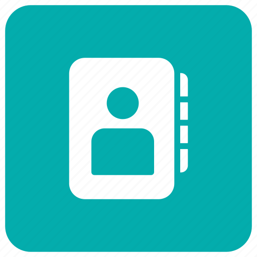 book, mobile, phone, phonebook icon