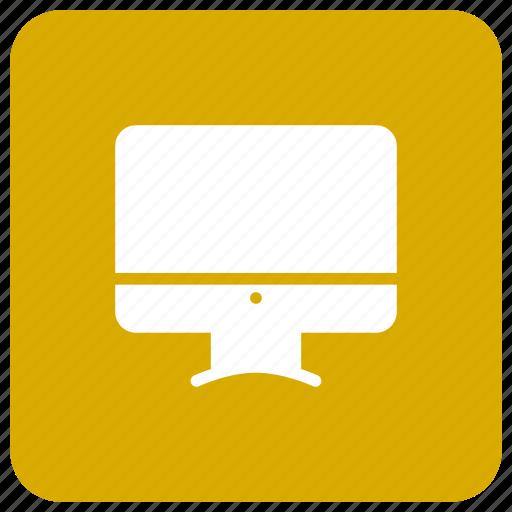 mac, monitor, screen, tv icon