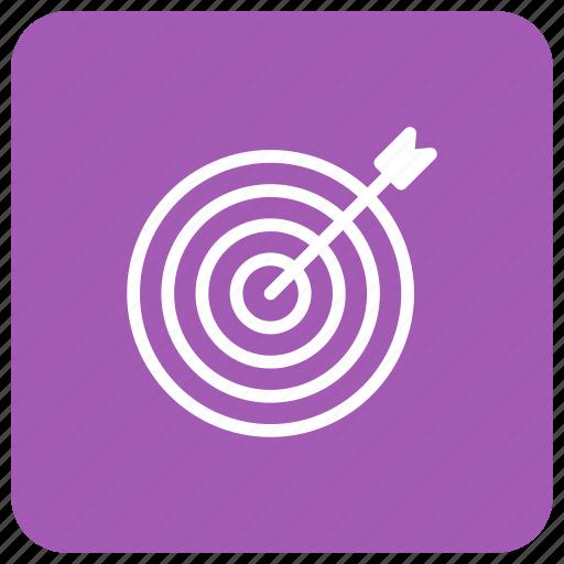 aim, circle, position, target icon